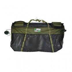 Přechovávací a vážící taška s plováky